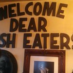 Love this sign inside!