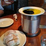 Rustic Bread ($3) served with Herbed Olive Oil and Balsamic Vinaigrette