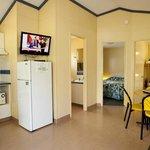 2 Bedroom Chalet living area