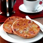 delicious cranberry teacake