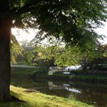 stunning river through Shresbury