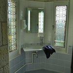 part of bathroom of room no. 5