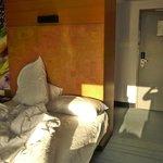 Inside the room - twin room