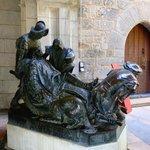 Escultura de Ignacio de Loyola