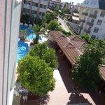 Wiev from balcony