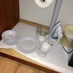 The cupboard that our kitchenware was in!!!