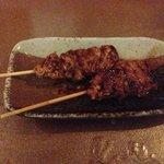 chicken thigh yakitori