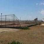 i campi da tennis rovinati