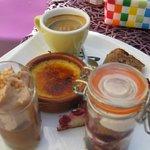 """дессерт """"café gourmand"""""""