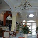 Lobby area, bright, spacious and very nice design