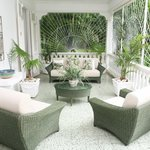 Relaxing veranda