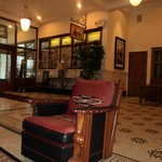 Lobby view with historical furniture