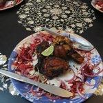 Tandoori Chicken for Starters