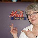 Inside Mel's Diner