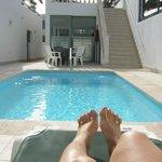 piscina e camere