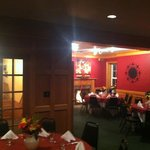 Beautiful upstairs banquet seating
