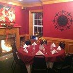 Beautiful upstairs banquet seating