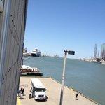Cruze ship docked next door