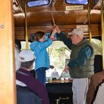 Ringing the trolley bell