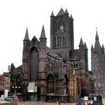 St Nicholas church + the Belfry.