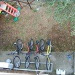 biciclette a disposizione dei clienti