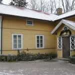 Vanha Emäntä, The idyllic wooden house which also has a cafe