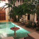 Riad - piscine