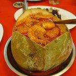 Coconut prawn