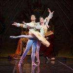 Maria Mosina and Alexei Tyukov in The Sleeping Beauty, photo by Terry Shapiro
