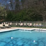Our heated outdoor pool and rec area is great for families