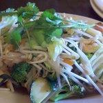 Famous Thai Vegetable Dish