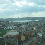Τhe view from the 8 floor.