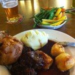 brisket of beef...  lovely.