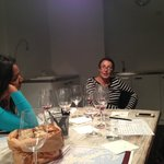 Our wine teacher, Hande, talking
