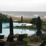 Pools by ocean