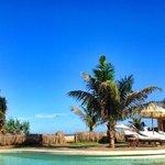 The beachside pool