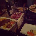 Raclette, canard et vin blanc