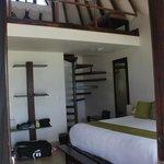 Seaview room (Room #1) has a loft upstairs