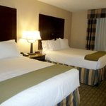Two queen beds--very comfortable