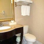 Bathroom--very clean