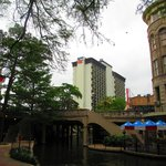 View of hotel from Riverwalk