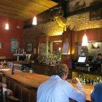 The Bar...checkout the bar countertop.
