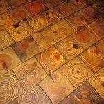 Wood Tiled Floor