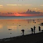 Sonnenuntergang vom Resort aus
