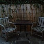 Private Outdoor seating area
