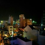 View from rooftop bar, from front of Ha Van Hotel