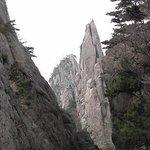 Huangshan China Gechuanjian Mountain