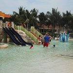Another shot of the kids water park/pool.
