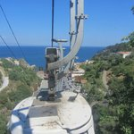 Chairlift to Taormina