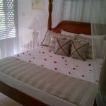 Newly decorated Honeymoon Suite